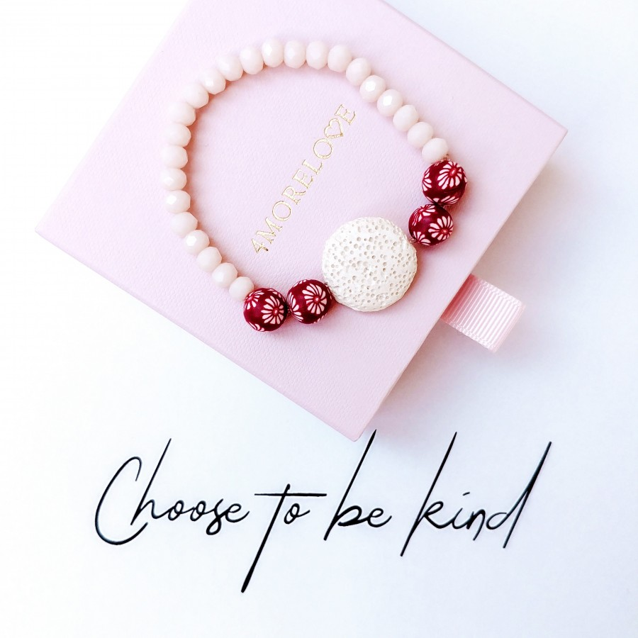 Bransoletka zapachowa 4morelove Choose To Be Kind