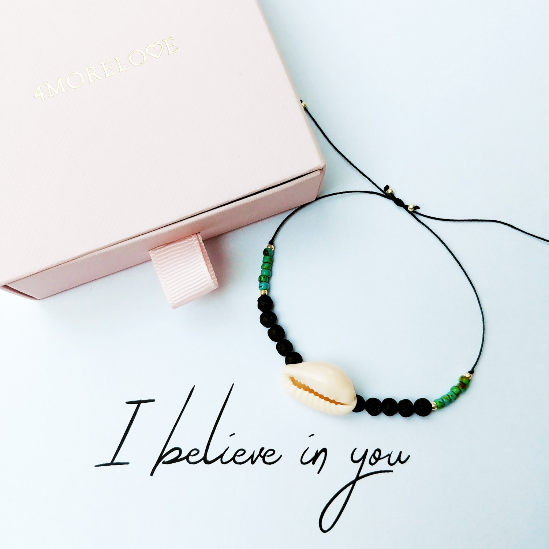 Biżuteria handmade zapachowa 4morelove I Believe In You
