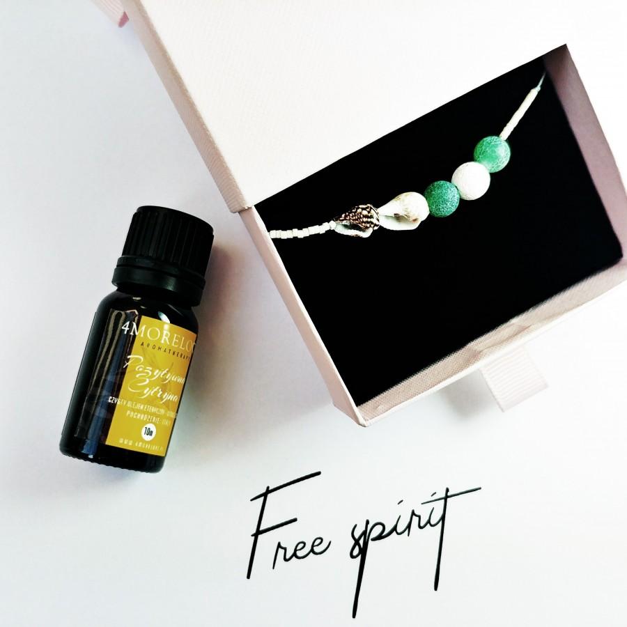 Bransoletka zapachowa 4morelove do aromaterapii Free Spirit