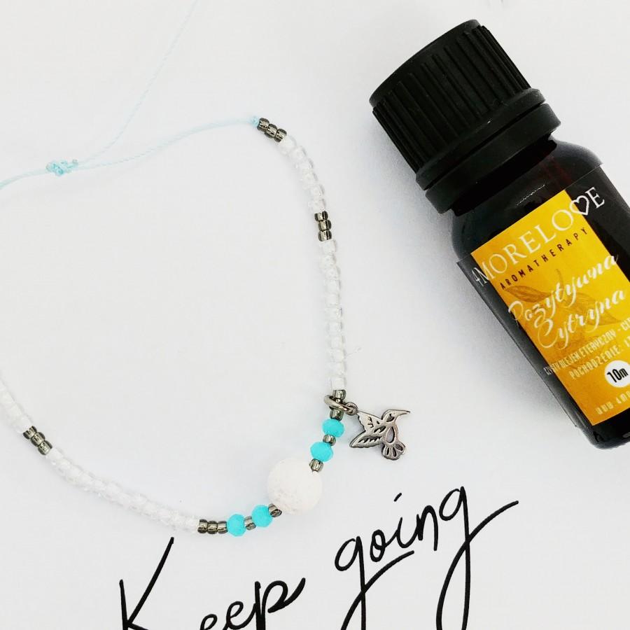 Bransoletka ręcznie robiona do aromaterapii 4morelove Keep Going
