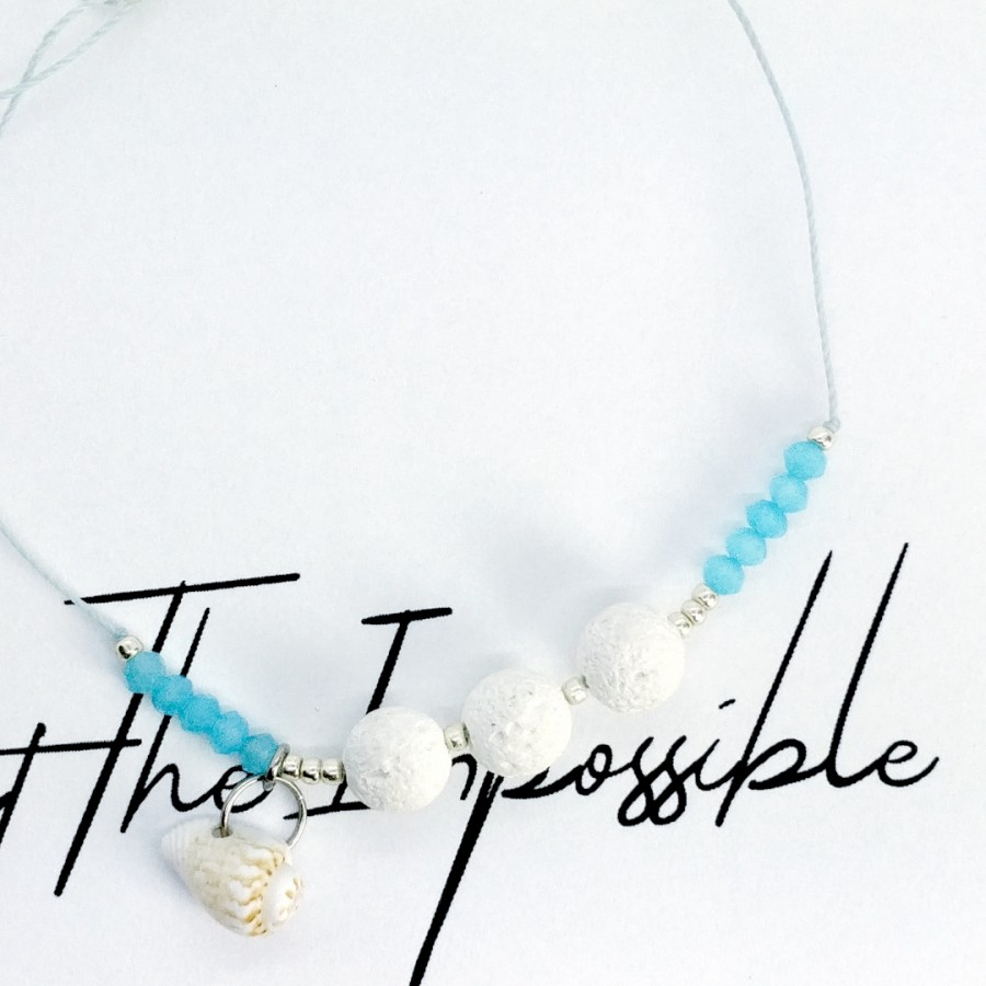 Bransoletka handmade do aromaterapii 4morelove - Attempt The Impossible